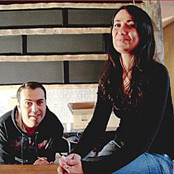 Sara da Silva und Abilio Cardoso