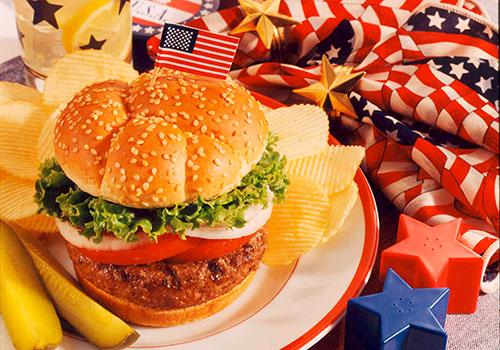 Amerikanische Küche